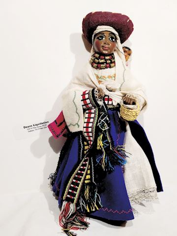 South American Doll Cultural Art