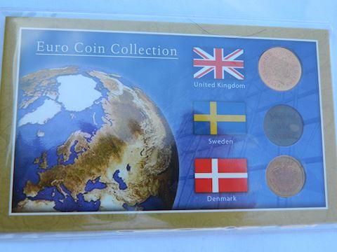 Sweden - Denmark - United Kingdom Coins
