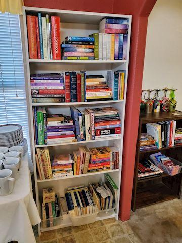Bookshelf (Books not included)