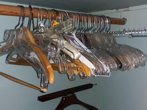 "SR  365  ""Assorted Clothes Hangers"""