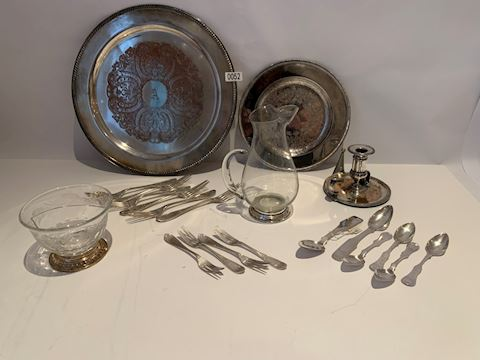 Lot 0052 Assorted Silver set