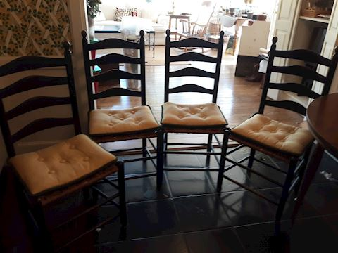 D-178...Set of 5 High back chairs