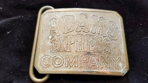 Tiffany Studio NY belt buckle *rare*
