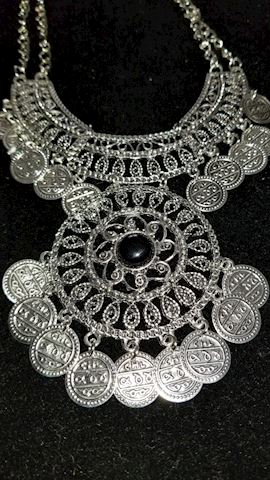 Fun belly dancer style necklace