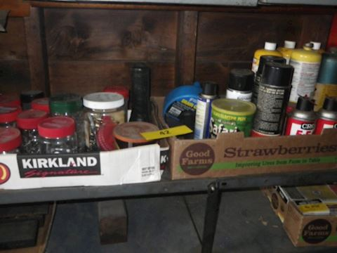Lot #42 - Hardware and more (Garage)