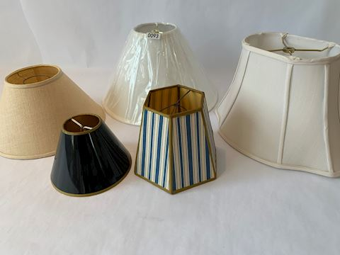 Lot 0093 Victorian Lamp Shades