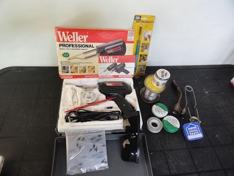 soldering gun, welding torch, etc Lot #117