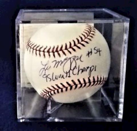 Leo Mazzone Autographed Base Ball