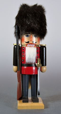 "1980s Steinbach 11"" The King's Guard Nutcracker Ex"