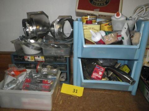 Lot # 31 - Hardware (Basement)