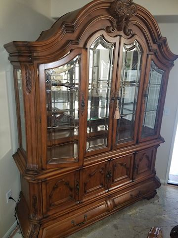 Michael Amini China Cabinet Tuscano Collection by