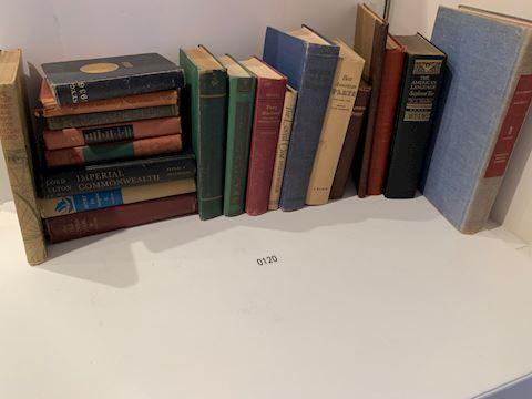Lot 0120 Vintage Books