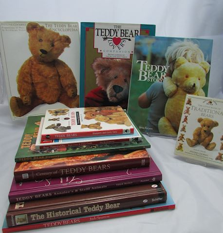 Lot of 11 Teddy Bear Books
