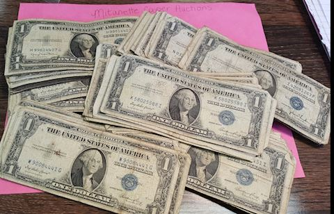 Estate Collection of 100 Silver Certificates