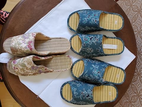 3 sets of Japanese slippers size