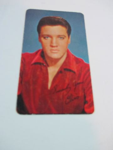1964 RCA Elvis Card and Calendar