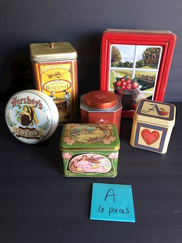 Collection of Tins Lot A