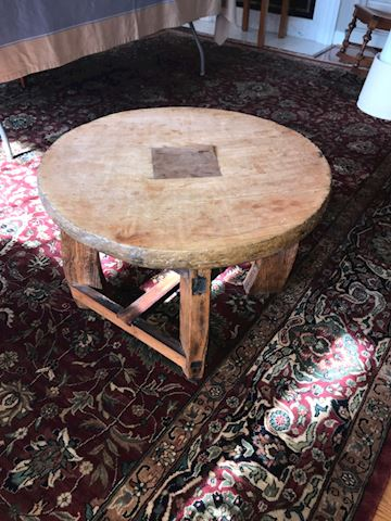 Old Ox Cart Coffee Table