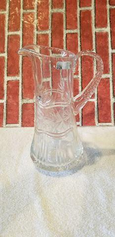 24% lead crystal pitcher Poland