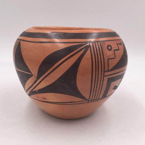 Native American Pottery Vase C. Twoitsie Walpi