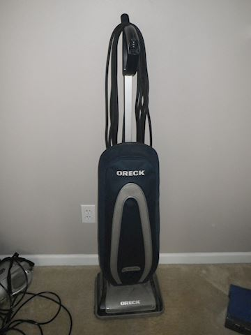 Oreck XL Silver Vacuum
