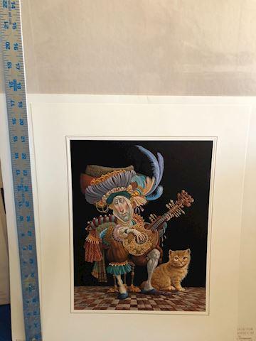 Serenade for an Orange Cat by James C. Christensan