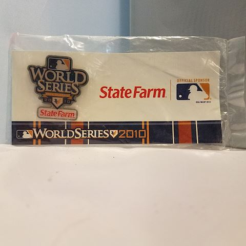 Set of 3 World Series 2010 Lapel/Collector Pin