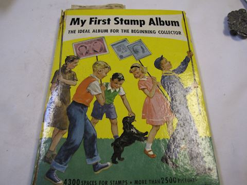 A FirstStamp Album Book with Stamps