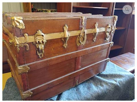 Antique Pirate Chest