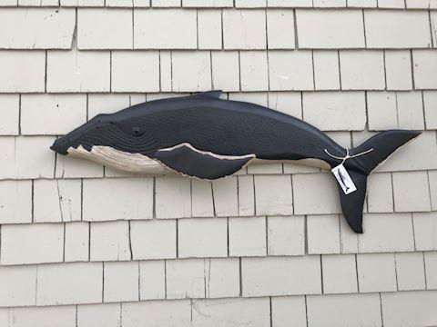 Custom carved Humpback Whale