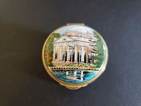 TKS JEFFERSON MONTICELLO TRINKET/PILL BOX