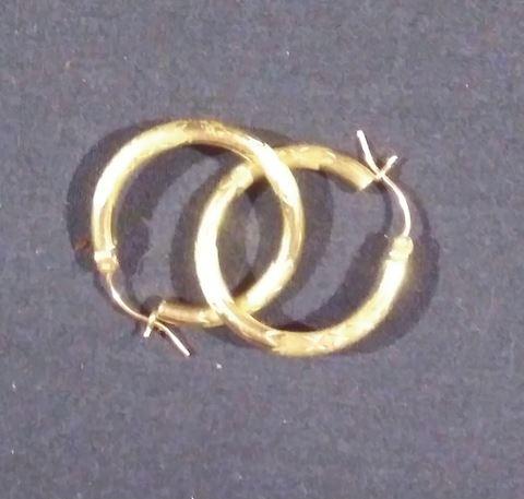 14K Gold Ear Rings