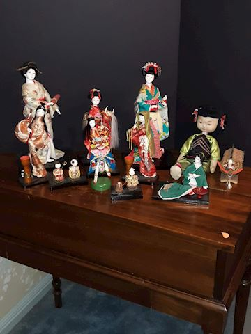 """SR  350  """"Asian - DOLLS FROM AROUND THE WORLD"""""""