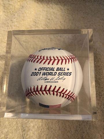 2001 World Series baseball