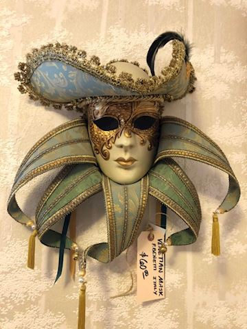Venetian Mardi Gras Mask from Italy
