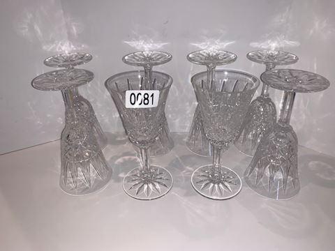0081 St. Louis wine goblets