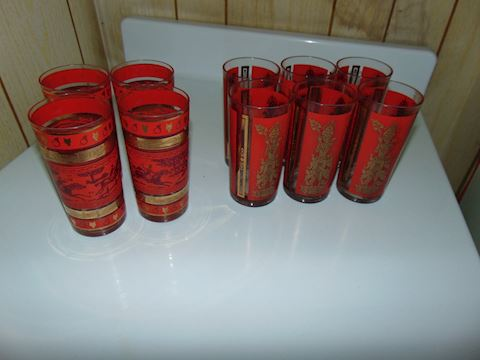 Mid-Century Beverage Set