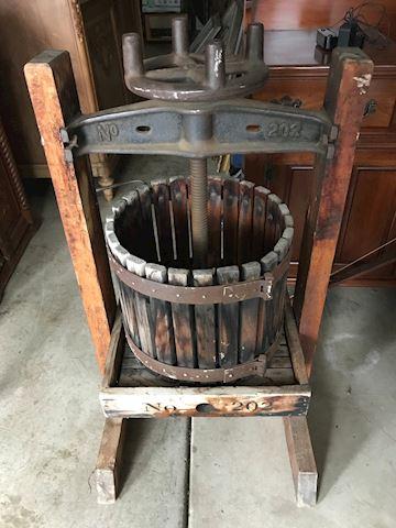 Wine Press - Oasis 202