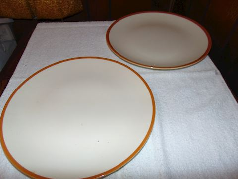 Homer Laughlin Platters