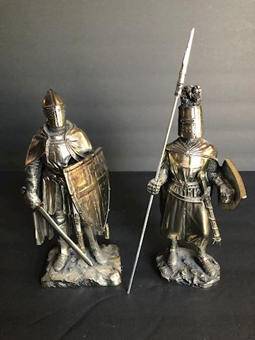 Medieval Knight Statues