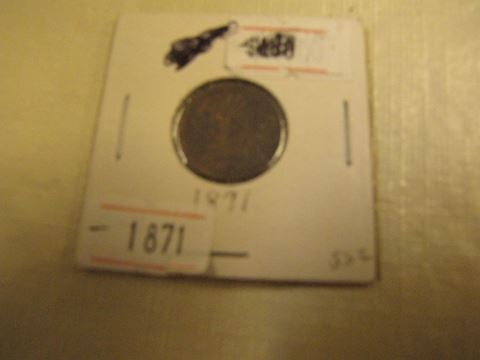 Coin - 1871 Indian Head Penny
