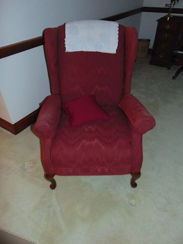 Wingback Pushback  Recliner
