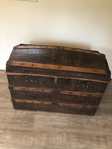 Antique Dome Top Chest
