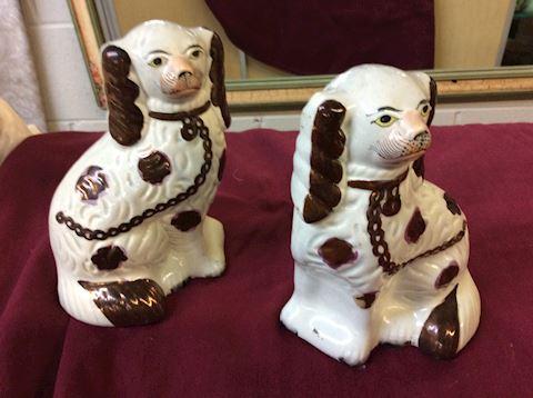 Staffordshire dog pair