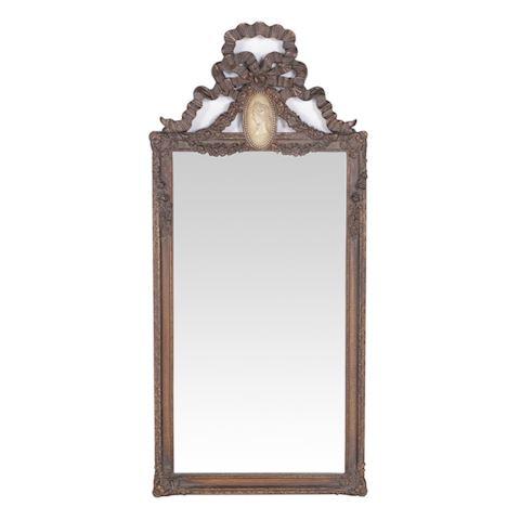 Bombay Company Cameo Beveled Mirror