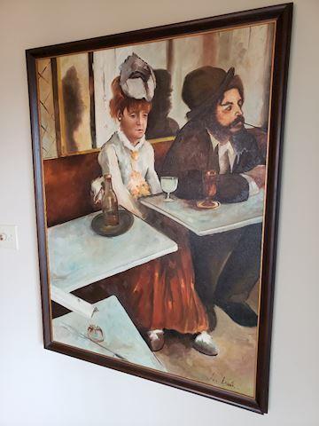 Oil on Canvas Degas Cooy