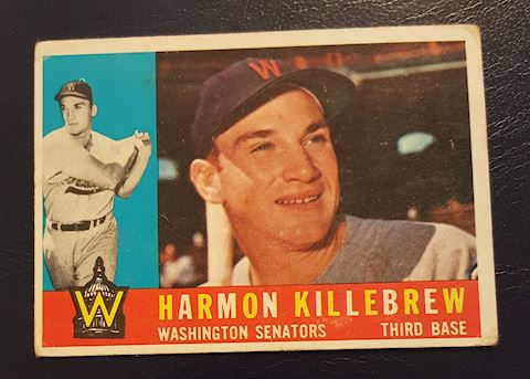 1960 Harmon Killebrew Baseball Card #210
