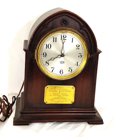 Antique Clock Hamilton Sangamo