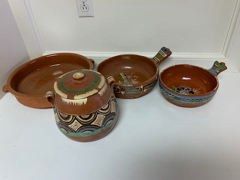 Antique Indian Pottery