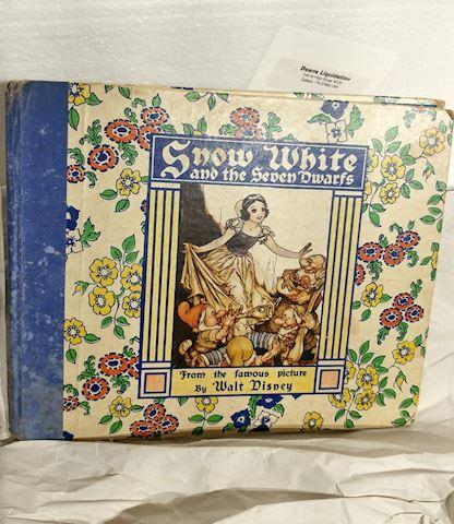1938 Snow White and the Seven Dwarfs,  Book